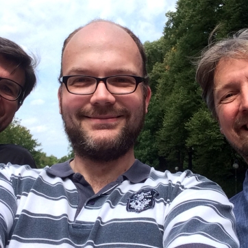 from left to right: Eric Jannot, Stefan Berendes, Thomas Kirchberg